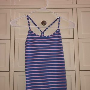 COPY - IVVIVA pink and blue tank top